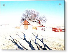 Cottonwood Ranch, Kansas Acrylic Print