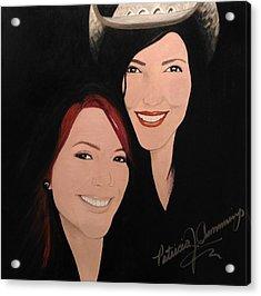 Cougrzz Rock Duo Acrylic Print