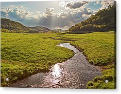 Coulee View Acrylic Print