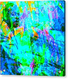Count Basie Acrylic Print by Brian Broadway