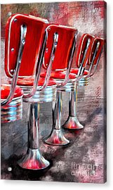 Counter Seating Available Acrylic Print