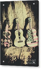 Country And Western Saloon Songs Acrylic Print