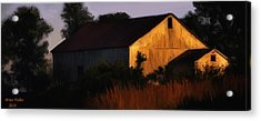 Country Barn Acrylic Print by Brian Fisher