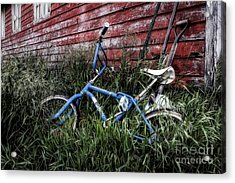 Acrylic Print featuring the photograph Country Bicycle by Brad Allen Fine Art