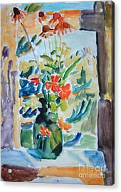 Country Bouquet Acrylic Print by Andrey Semionov