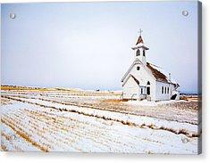 Country Church Acrylic Print by Todd Klassy