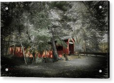Country Crossing Acrylic Print