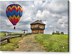 Country Cruising  Acrylic Print