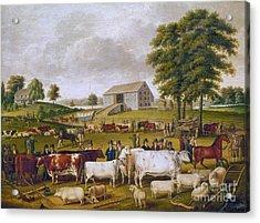 Country Fair, 1824 Acrylic Print by Granger