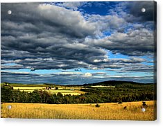 Acrylic Print featuring the photograph Country Farm by Gary Smith