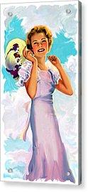 Country Girl Acrylic Print by Lash Larue