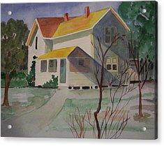 Country Home Acrylic Print