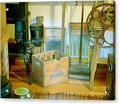 Acrylic Print featuring the painting Country Kitchen Sunshine II by RC deWinter