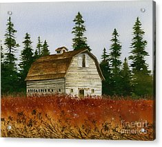 Acrylic Print featuring the painting Country Landscape by James Williamson