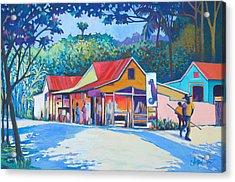 Country Life Acrylic Print