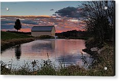Country Living Sunset Acrylic Print