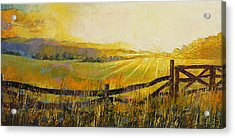 Country Meadow Acrylic Print