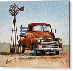 Country Memories Acrylic Print by James Williamson