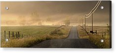 Acrylic Print featuring the photograph Country Mornings by Al Swasey