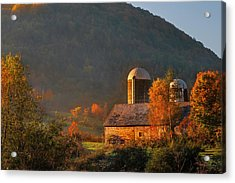 Country Mornings - West Pawlet Vermont Acrylic Print