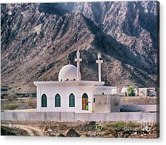 Acrylic Print featuring the photograph Country Mosque by Charles McKelroy