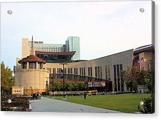 Country Music Hall Of Fame Acrylic Print