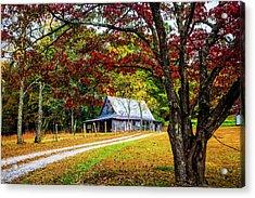 Country Paths Acrylic Print