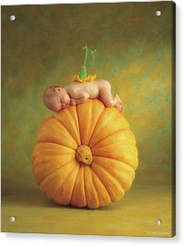 Country Pumpkin Acrylic Print by Anne Geddes