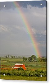 Country Rainbow Acrylic Print by James BO  Insogna