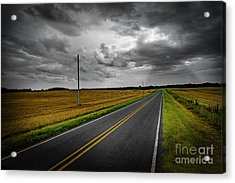 Acrylic Print featuring the photograph Country Road by Brian Jones