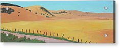 Country Road Acrylic Print by Gary Coleman