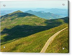 Acrylic Print featuring the photograph Country Road To My Home Whiteface Mountain New York by Paul Ge
