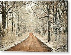 Country Roadq Acrylic Print