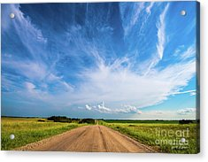 Country Roads IIi - Signed Edition Acrylic Print