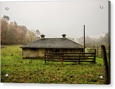 Country Shed Acrylic Print by Terry Davis
