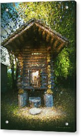 Country Storage Bin Acrylic Print by Marvin Spates