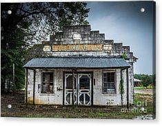 Country Store In The Mississippi Delta Acrylic Print
