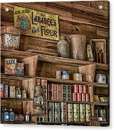Country Store Acrylic Print by Stephen Stookey
