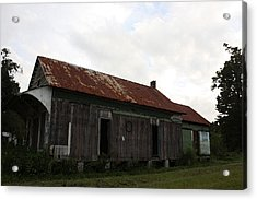 Country Store Two Acrylic Print by Paula Coley