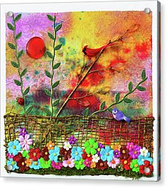 Country Sunrise Acrylic Print