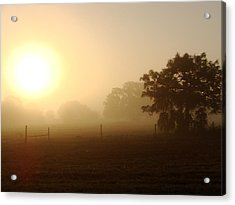 Country Sunrise Acrylic Print by Kimberly Camacho