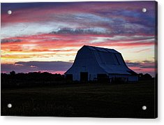 Acrylic Print featuring the photograph Country Sunset by Cricket Hackmann