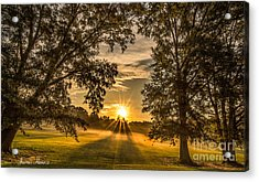 Country Time Rise Acrylic Print