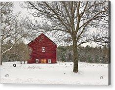 Country Vermont Acrylic Print