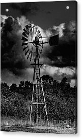 Country Windmill Acrylic Print