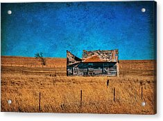 Countryside Abandoned House Acrylic Print