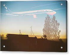 Countryside Boeing Acrylic Print
