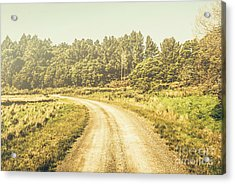 Countryside Road In Outback Australia Acrylic Print by Jorgo Photography - Wall Art Gallery