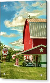 County G Classic Station Acrylic Print by Trey Foerster