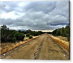 County Road Acrylic Print
